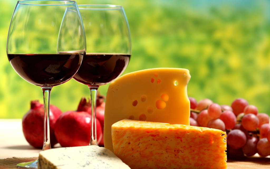 wine-cheese